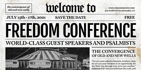 Freedom Conference 2021 tickets