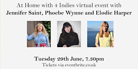Jenifer Saint, Elodie Harper and Phoebe Wynne in conversation tickets
