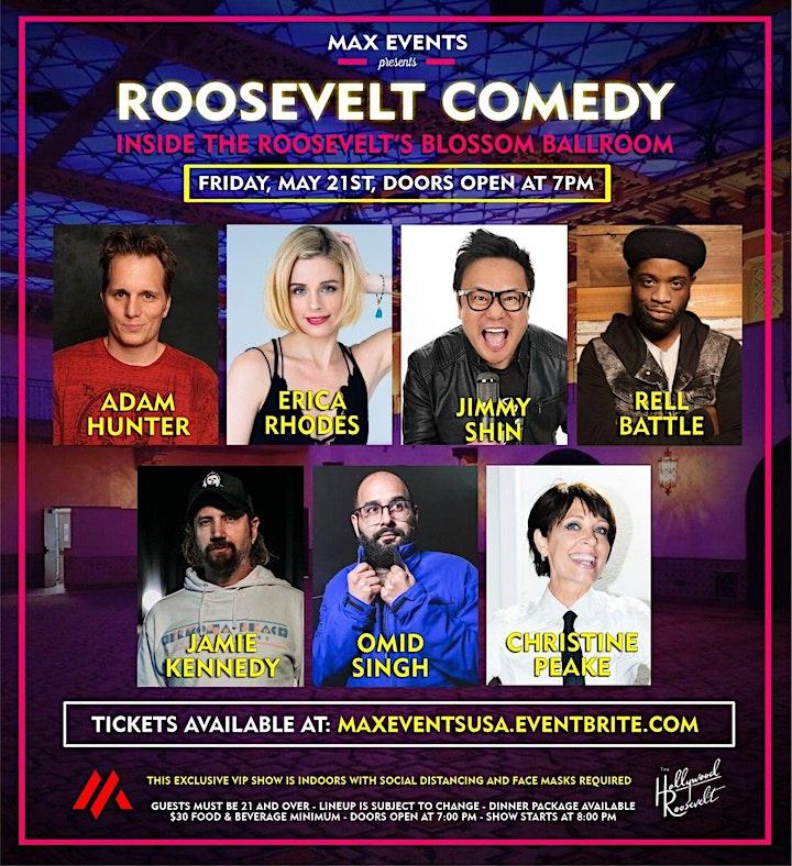 ROOSEVELT COMEDY May 21 Ballroom Show image