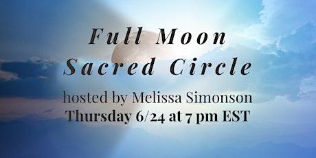 Capricorn Full Moon Sacred Circle Tickets