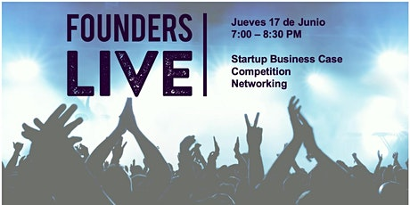 Founders Live Madrid - Streaming Edition entradas