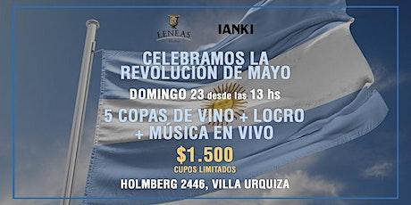 Celebramos la Revolución de Mayo entradas
