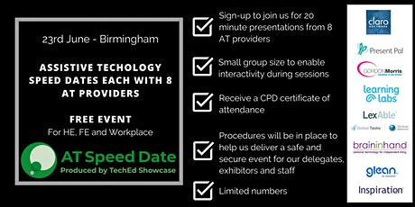 TechEd Showcase AT Speed Date - Birmingham tickets