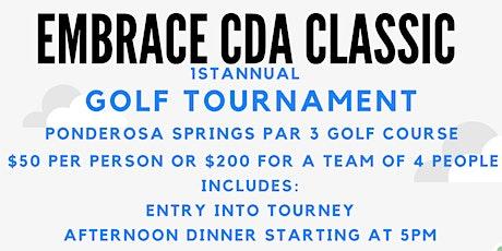 Embrace CDA Classic Golf Tournament! tickets