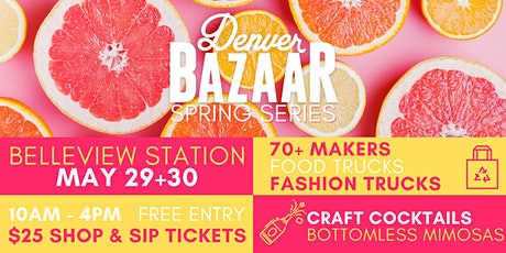 Spring BAZAAR: Belleview Station tickets