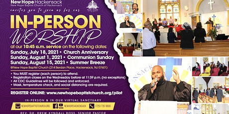 In-Person Service (Communion & Church Meeting) tickets