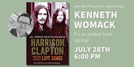 Book Signing with Kenneth Womack, All Things Must Pass Away tickets