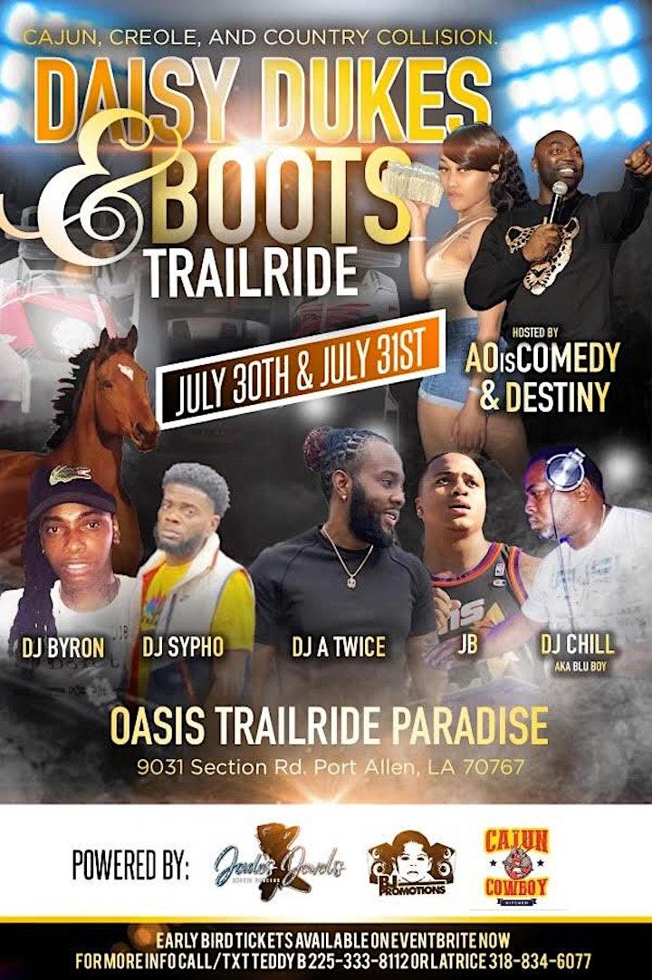 Daisy Dukes & Boots Trailride at Oasis Trailride Paradise image