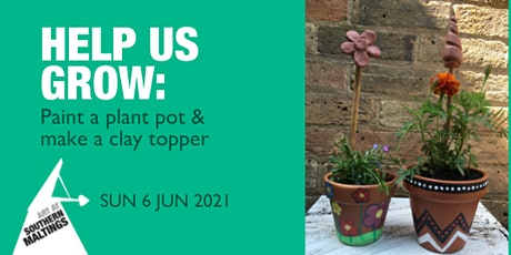 Help Us Grow - Paint your own Plant Pot and Create a Clay Cane Topper tickets