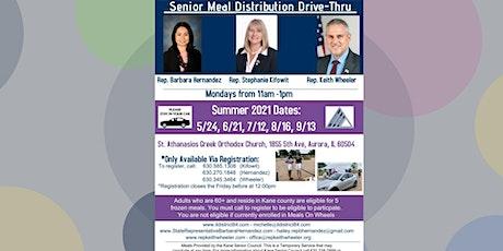Kane County Senior Meal Distribution Drive-Thru tickets