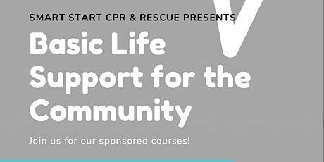 Basic Life Support for the Community tickets