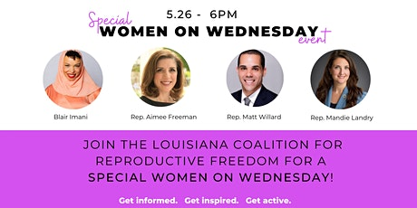 Women on Wednesday: Working Together for Reproductive Freedom tickets