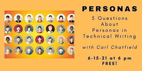 Carl Chatfield on Creating Personas in UX Strategy tickets