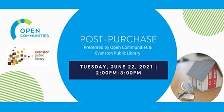 Post-Purchase (Presented by Open Communities & Evanston Public Library) tickets