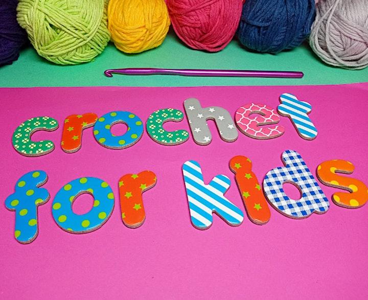 Crochet for Kids - Friendship Bracelet Workshop image
