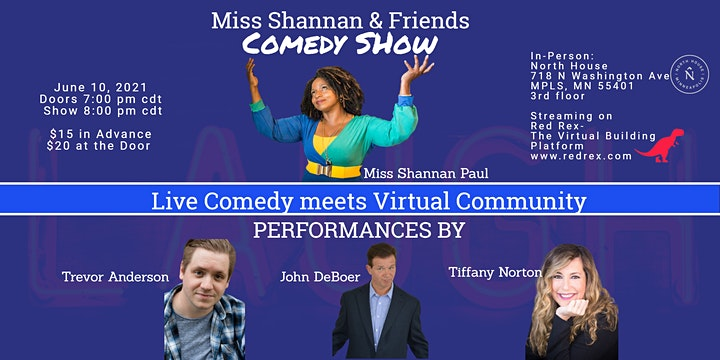 Miss Shannan and Friends Comedy Show at NoHo image