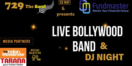 729 THE BAND & FUNDMASTER PRESENTS  LIVE BOLLYWOOD BAND & DJ NIGHT tickets