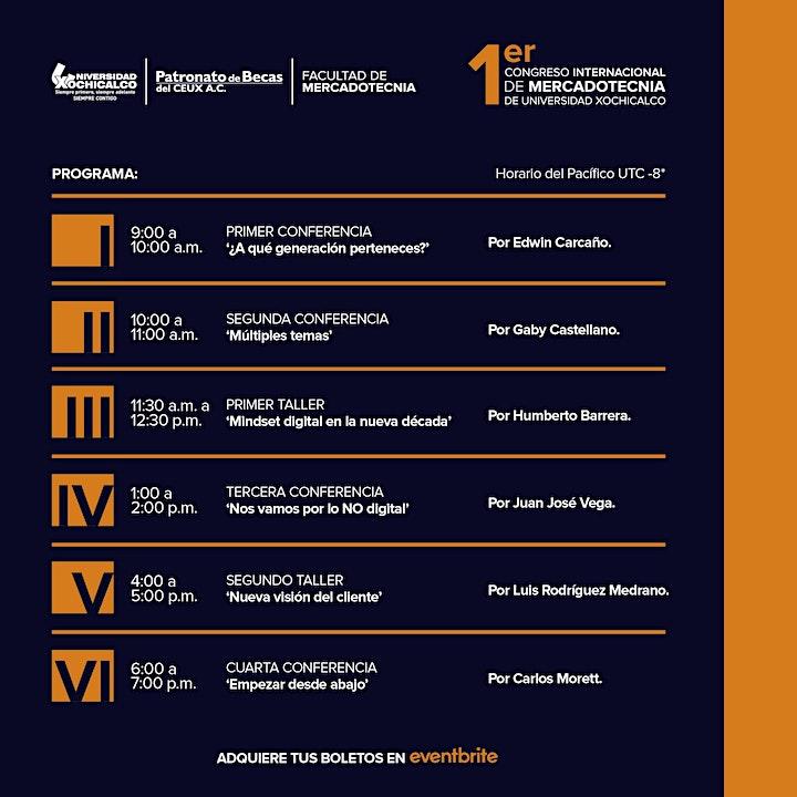 Imagen de 1er Congreso Internacional de Mercadotecnia Xochicalco