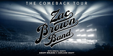 Zac Brown Band - Camping 1 Night tickets