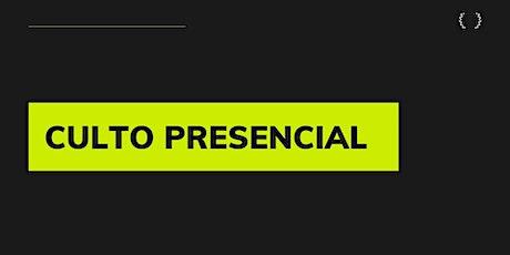 Culto Presencial 23/05/2021 - Igreja Batista Renovada MRP ingressos