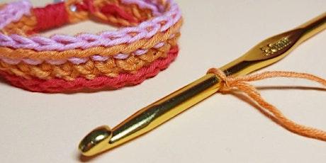 Crochet for Kids - Friendship Bracelet Workshop tickets