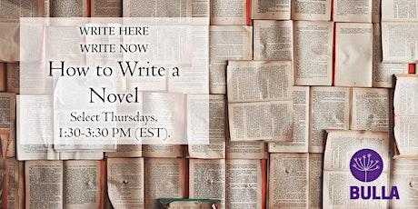 How to Write a Novel: Self-Publishing tickets