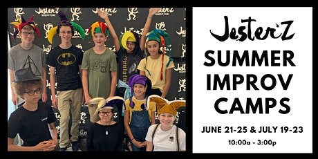 Youth and Teen Improv Comedy Summer Camp tickets