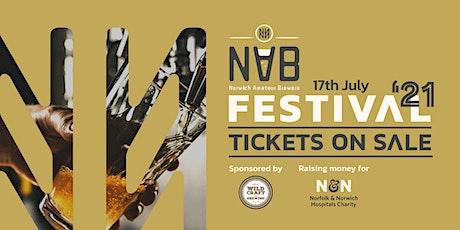 Norwich Amateur Brewers Festival 2021 tickets