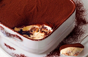 Zoom Cooking Experience: Authentic Italian Tiramisù tickets