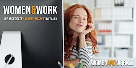 women&work - die wichtigste Karrieremesse für Frauen Tickets