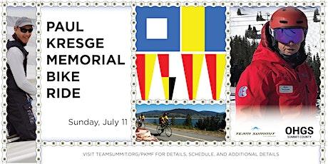 Paul Kresge Memorial Bike Ride tickets