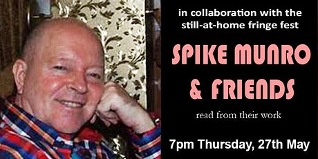Poet to Poet: Performance Poetry with  Spike Munro & Friends tickets