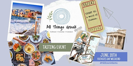 Tasting Event _All Things Greek June 20th #cloud-based kitchen tickets