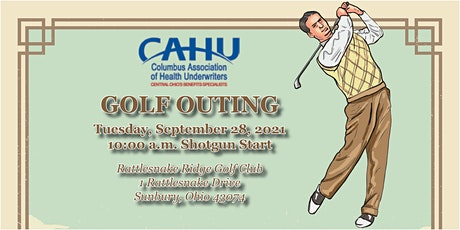 CAHU Golf Outing tickets