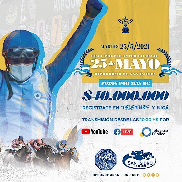 Imagen de Evento Online | Gran Premio 25 de Mayo | Hipódromo de San Isidro