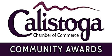 2021 Calistoga Community Awards tickets
