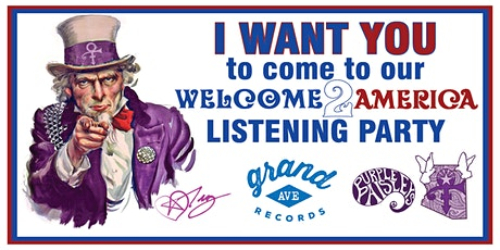 Welcome2America Listening Party tickets