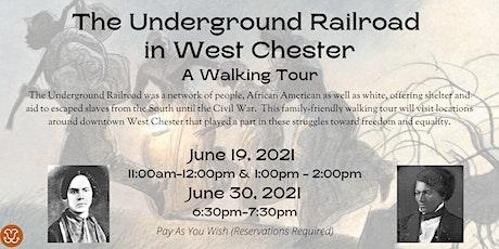 Underground Railroad Walking Tour tickets