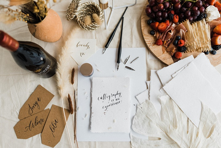 The Calligraphy Room: a self care experience for calligraphers 7/11 image