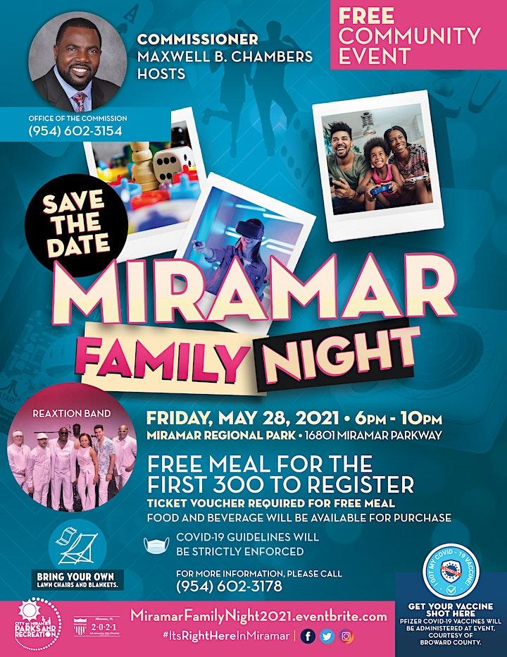 Miramar Family Night image
