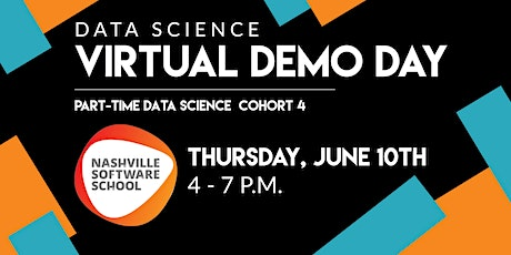 NSS Virtual Demo Day: Data Science Cohort 4 tickets