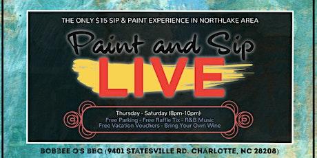 $15 Sip & Paint (Northlake Area) tickets