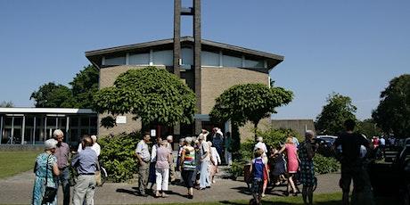 Plaatsreservering Pelgrimskerk 6 juni 2021 tickets