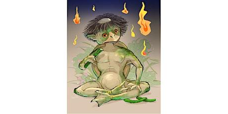 Manga Workshop - Let's draw Japanese Yokai monsters with INKO tickets