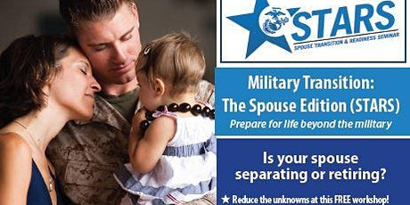 2021 (STARS) Spouse Transition and Readiness Seminar Afternoon Sessions tickets