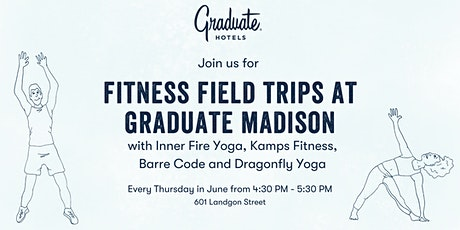 Fitness Field Trips: Inner Fire Yoga at Graduate Madison tickets