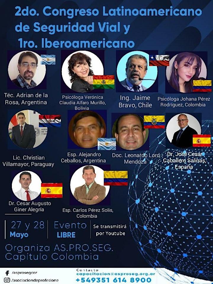 Imagen de Congreso Latino Ibero Americano de Seguridad Vial