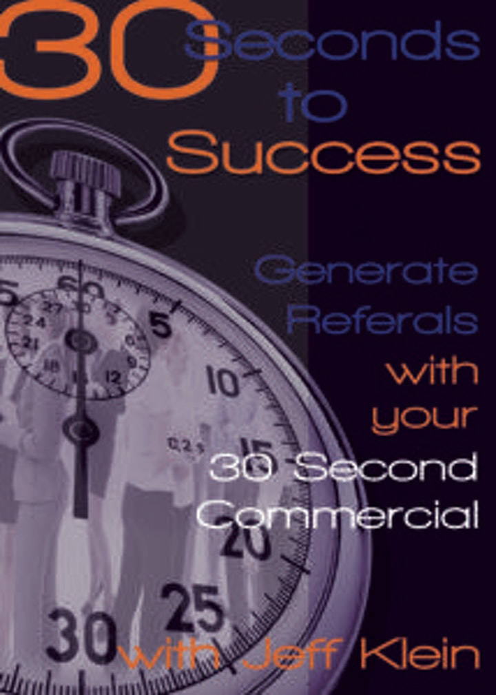Your Elevator Pitch: 30 Seconds to Success image