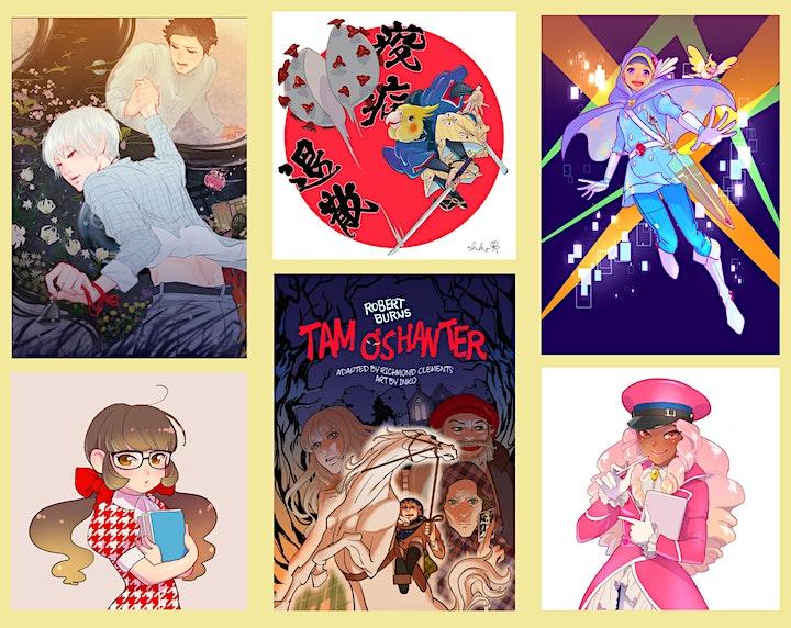 Manga Workshop - Let's draw Japanese Yokai monsters with INKO image