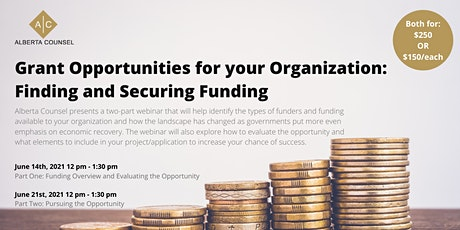 Grant Opportunities for your Organization: Finding and Securing Funding tickets